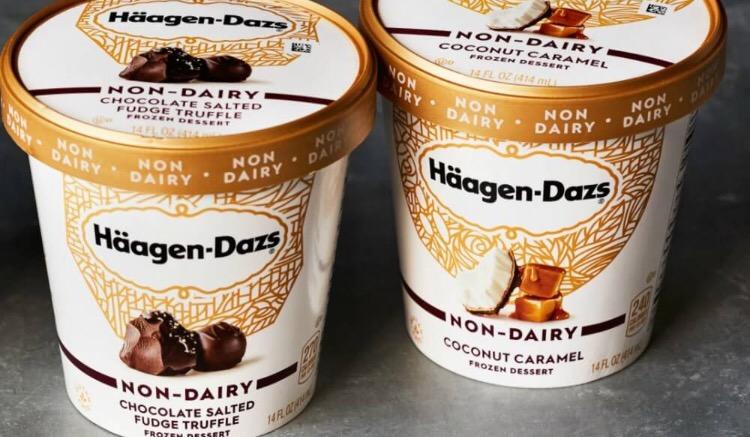 Häagen Dazs se lance dans les glaces veganes !