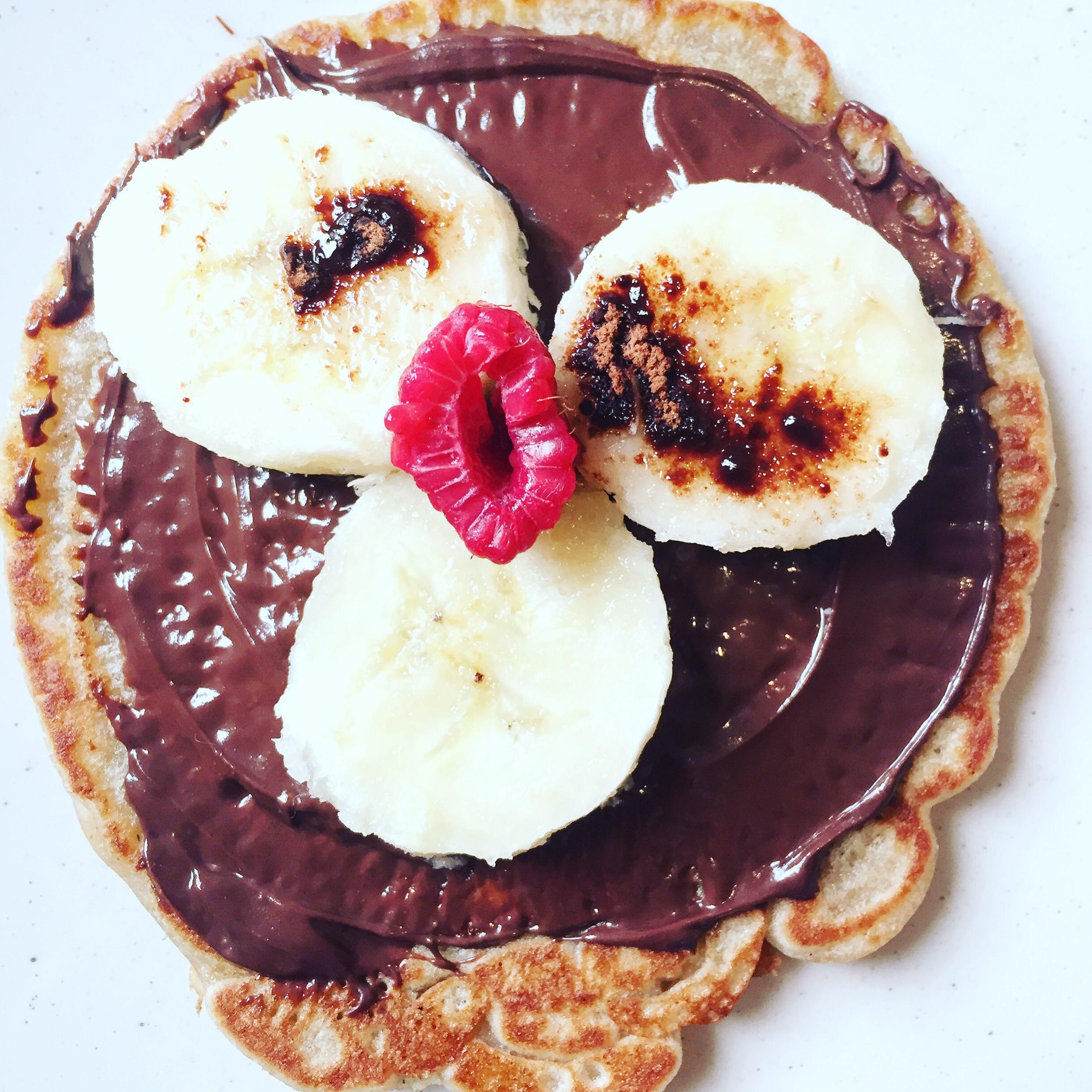Les pancakes vegans de Melle Pigut