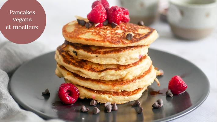 Pancakes vegans et moelleux