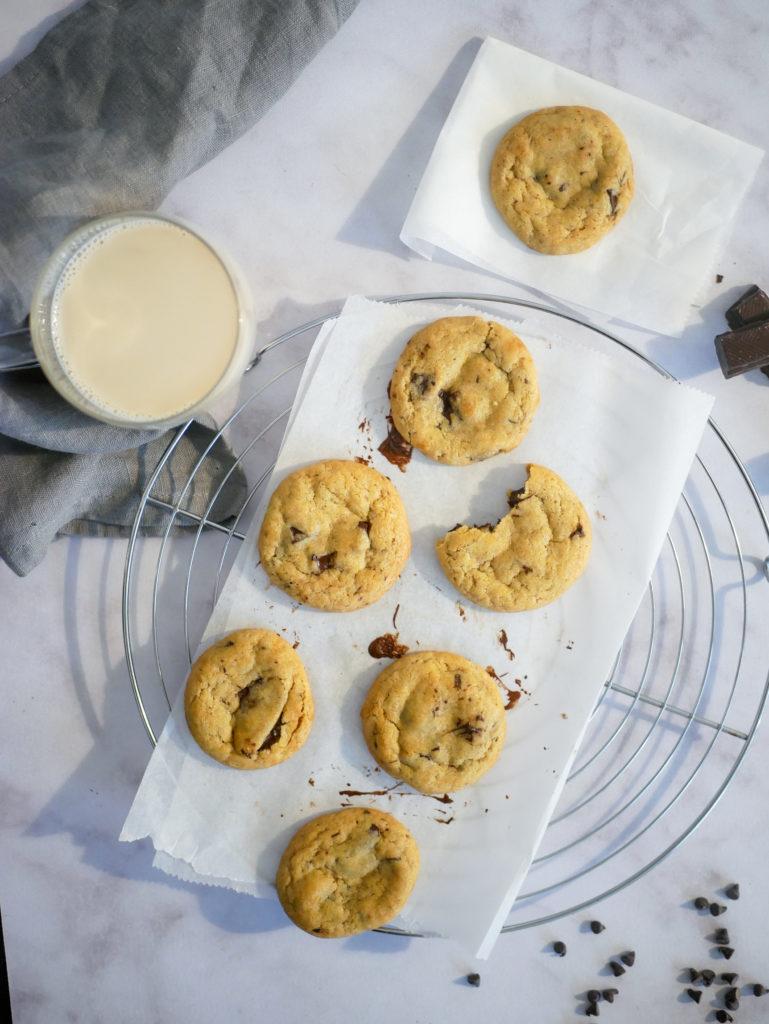 Cookies aux morceaux de chocolat