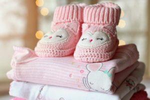 Petit chausson pour bébé