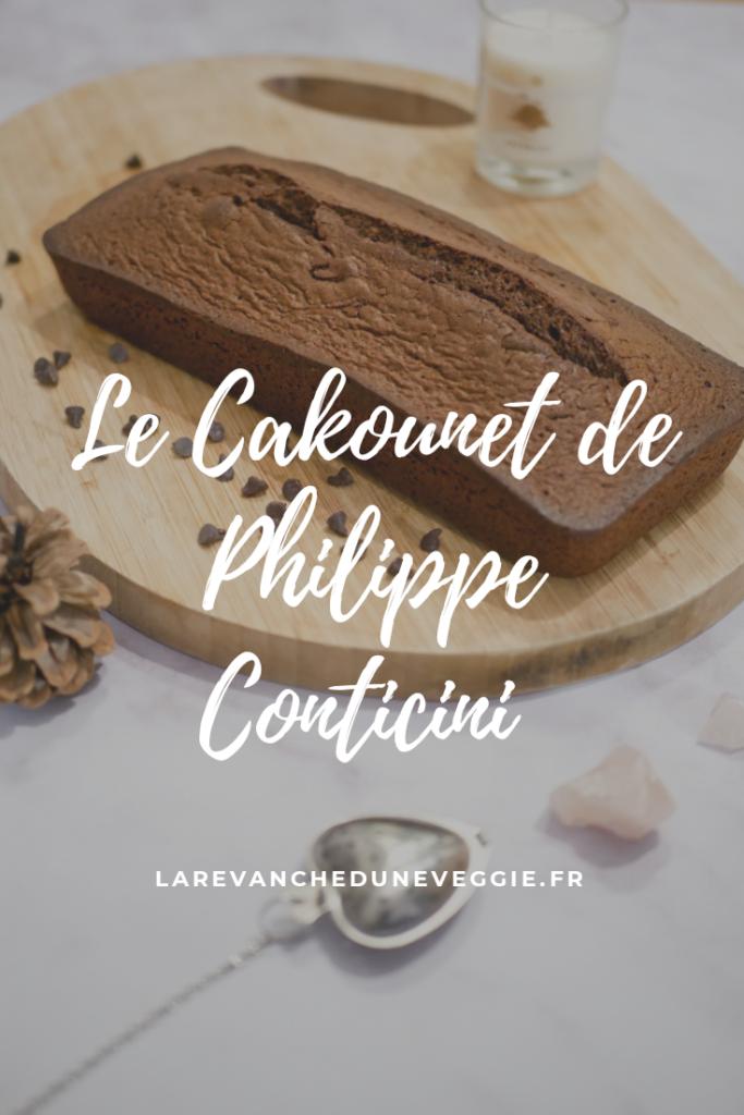 Recette du célèbre Cakounet du Chef Philippe Conticini. Simple et prêt en quelques minutes seulement.