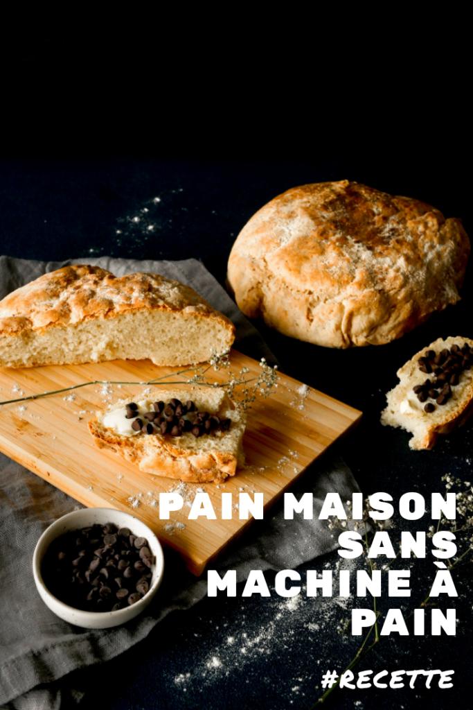Epingle Pinteresse : Recette de pain maison sans machine à pain