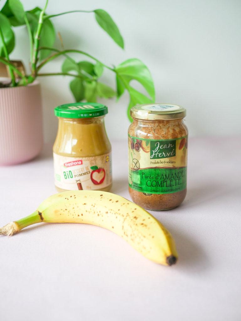 Remplacer les oeufs par de la compote, une banane ou de la purée d'oleagineux.