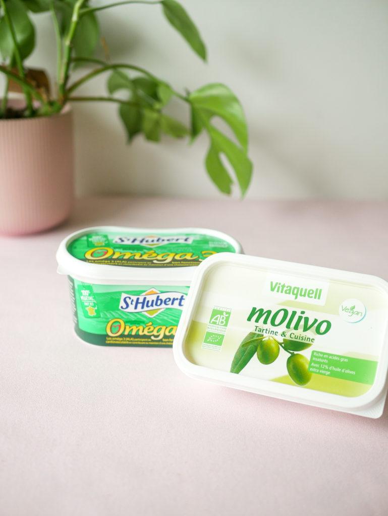 Remplacer le beurre par de la margarine ou de l'huile.