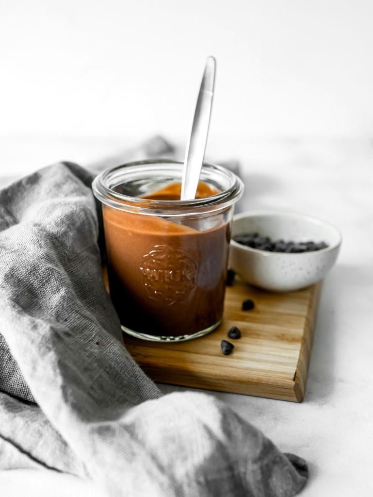 Soupe au chocolat de Cyril Lignac en version vegan