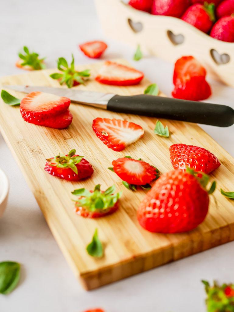 Découpe des fraises
