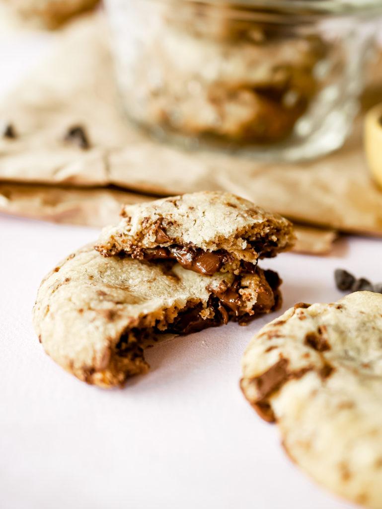 Recette des cookies aux deux chocolat de Cyril Lignac