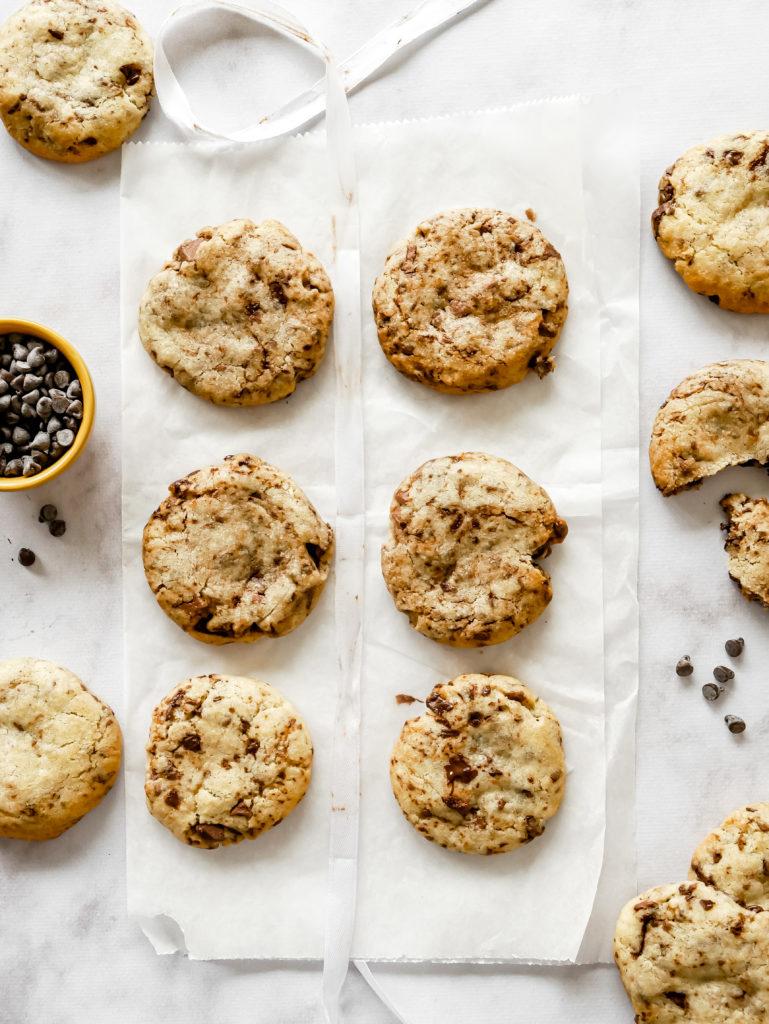 Recette du cookie aux deux chocolats