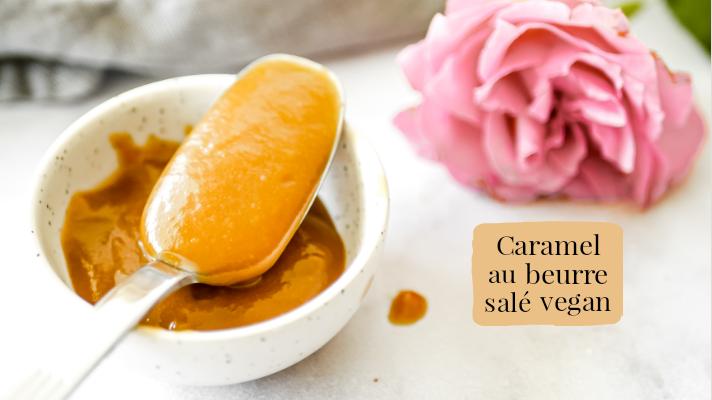 Caramel au beurre salé vegan