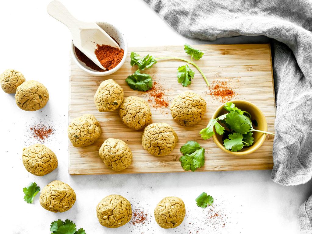 Recette de falafels vegans
