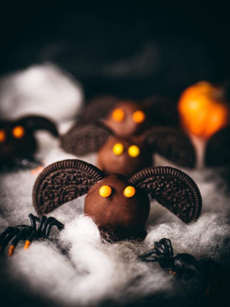 Bat Halloween cookie dough